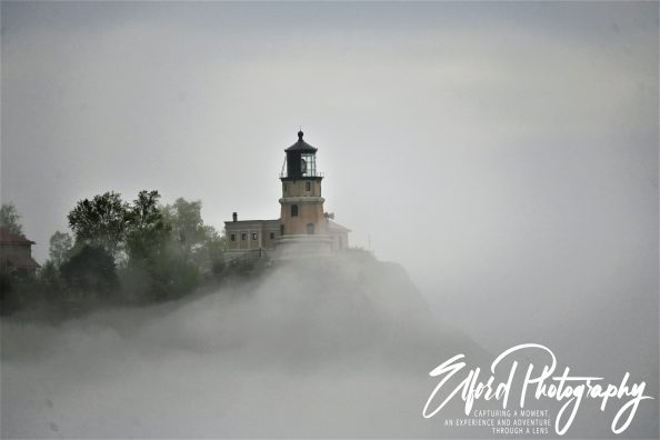 Morning fog on the north shore of Lake Superior Part 1
