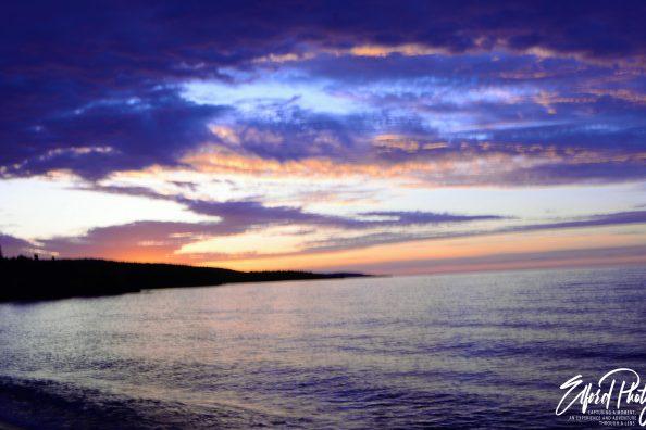 Sunday Sunrise on Lake Superior Photo Gallery