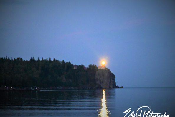Split Rock Lighthouse Lighting on 7/31
